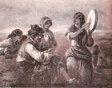 Gitanos-pandereta